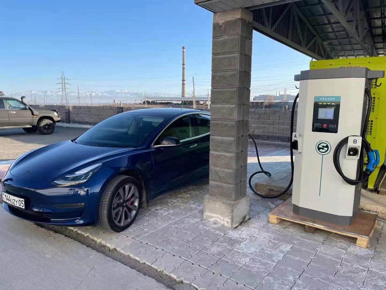 90kW EVSE EV Super Charging Station