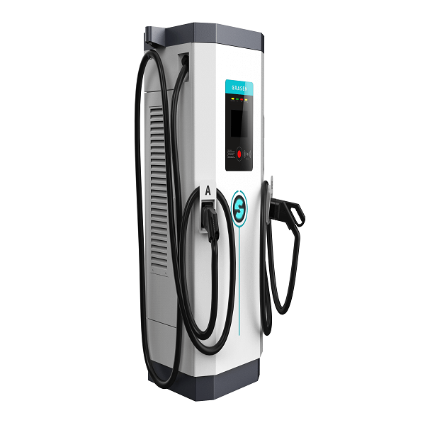 150kW CCS 2 PLUGS EV DC Fast Charger with TUV CE Certificates