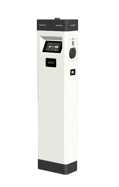 22kW dual OCPP Type 2 floor standing AC charger